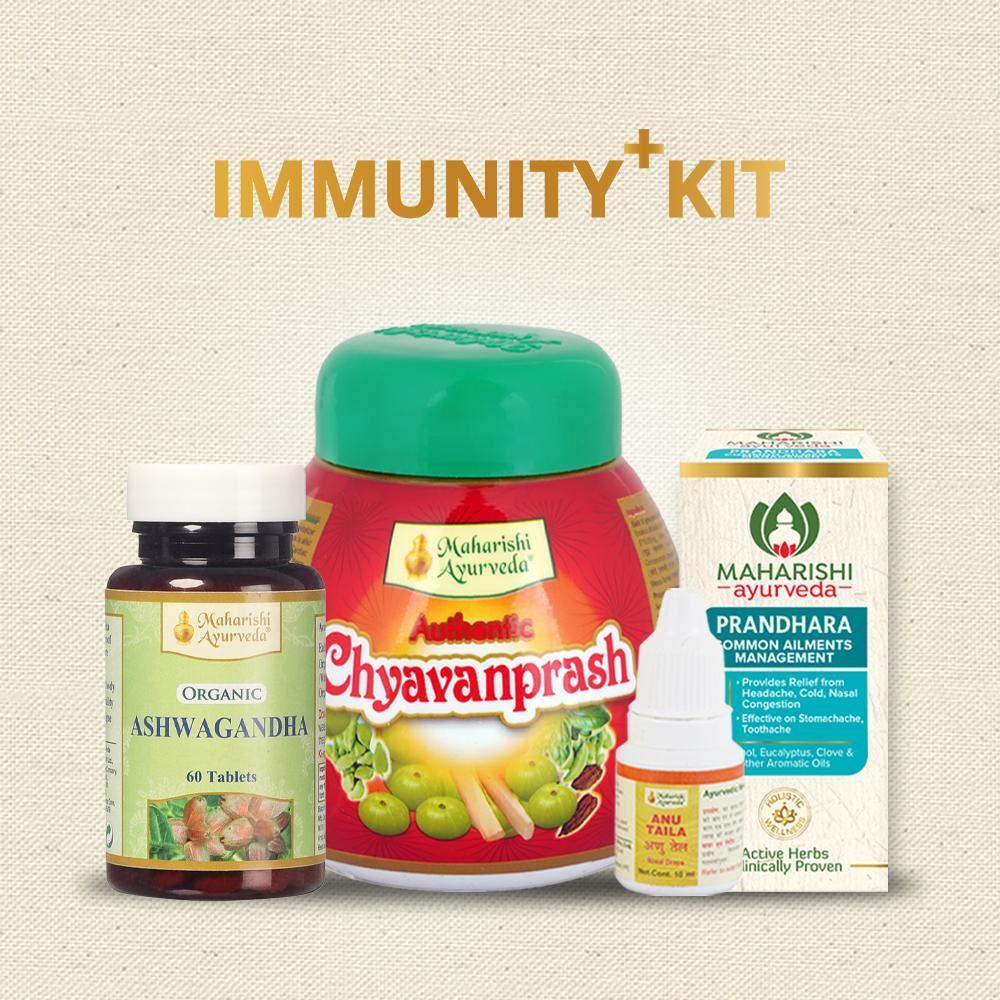 Maharishi Ayurveda Immunity+ Kit / Combo (1Pack)