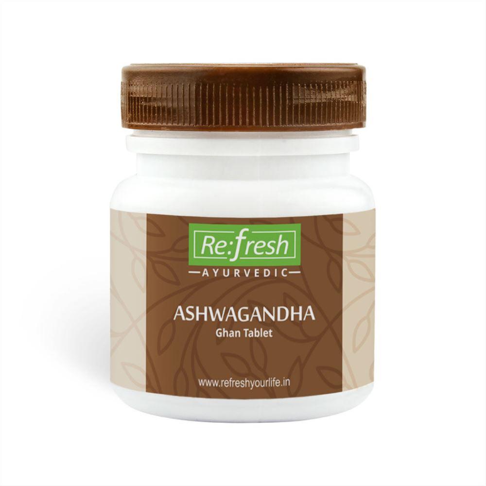 Refresh Ayurvedic Ashwagandha Ghan Tablet (120tab)