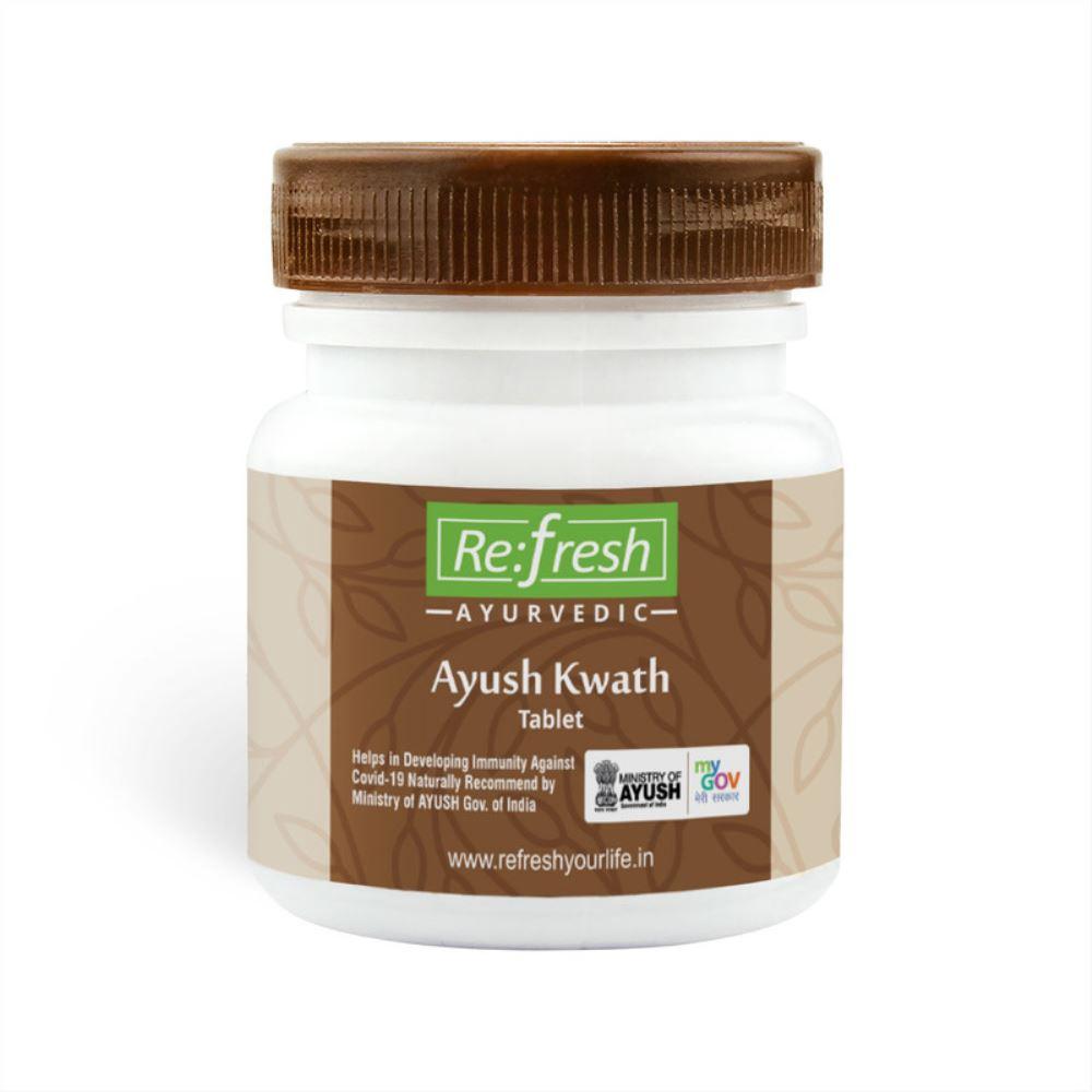 Refresh Ayurvedic Ayush Kwath Tablet (120tab)