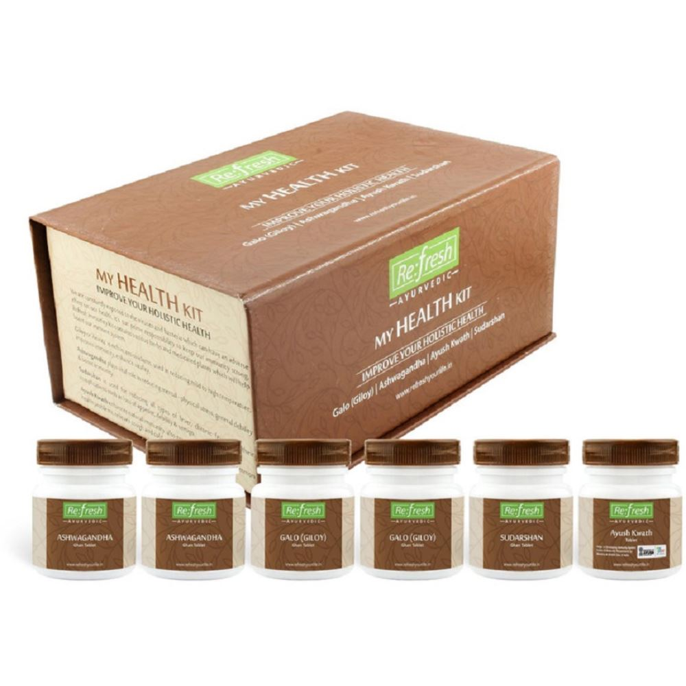 Refresh Ayurvedic Health Kit (1Pack)