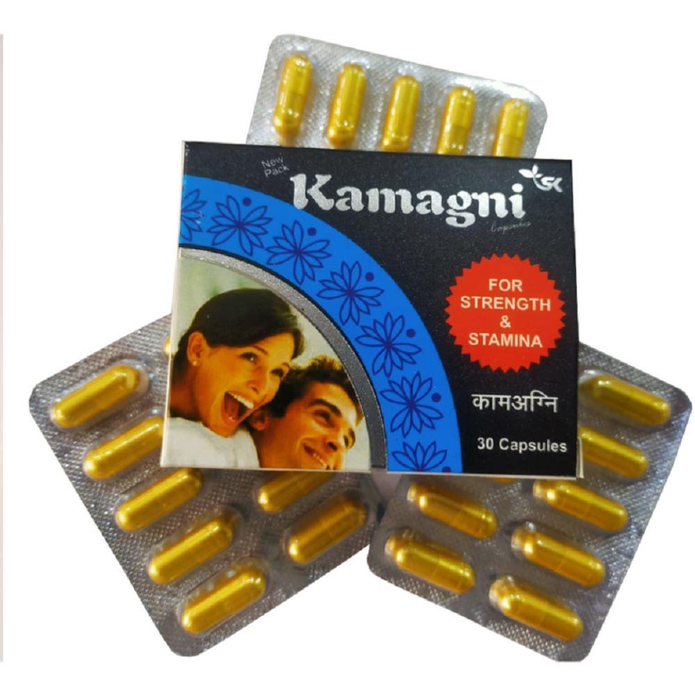 S K Pharma Kamagani Capsules (30caps)