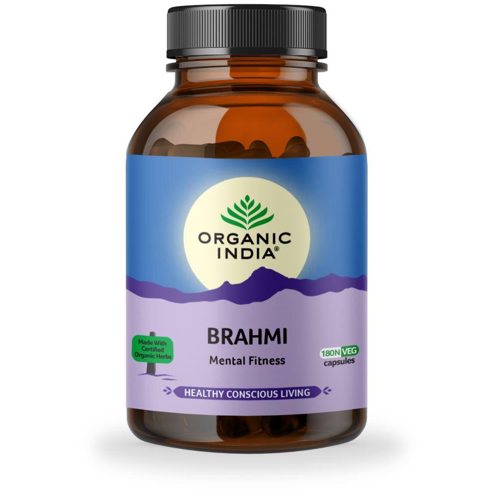 Organic India Brahmi Capsules (180caps)