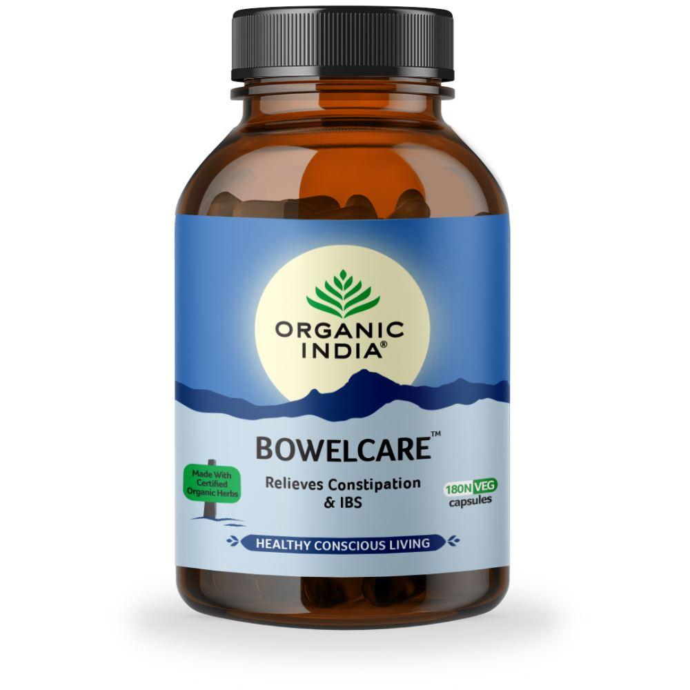 Organic India Bowel Care Capsules (180caps)