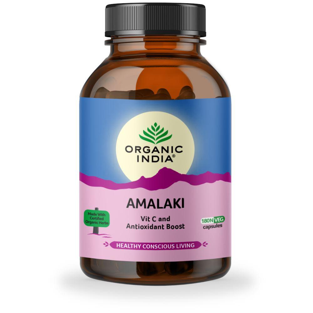 Organic India Amalaki Capsules (180caps)