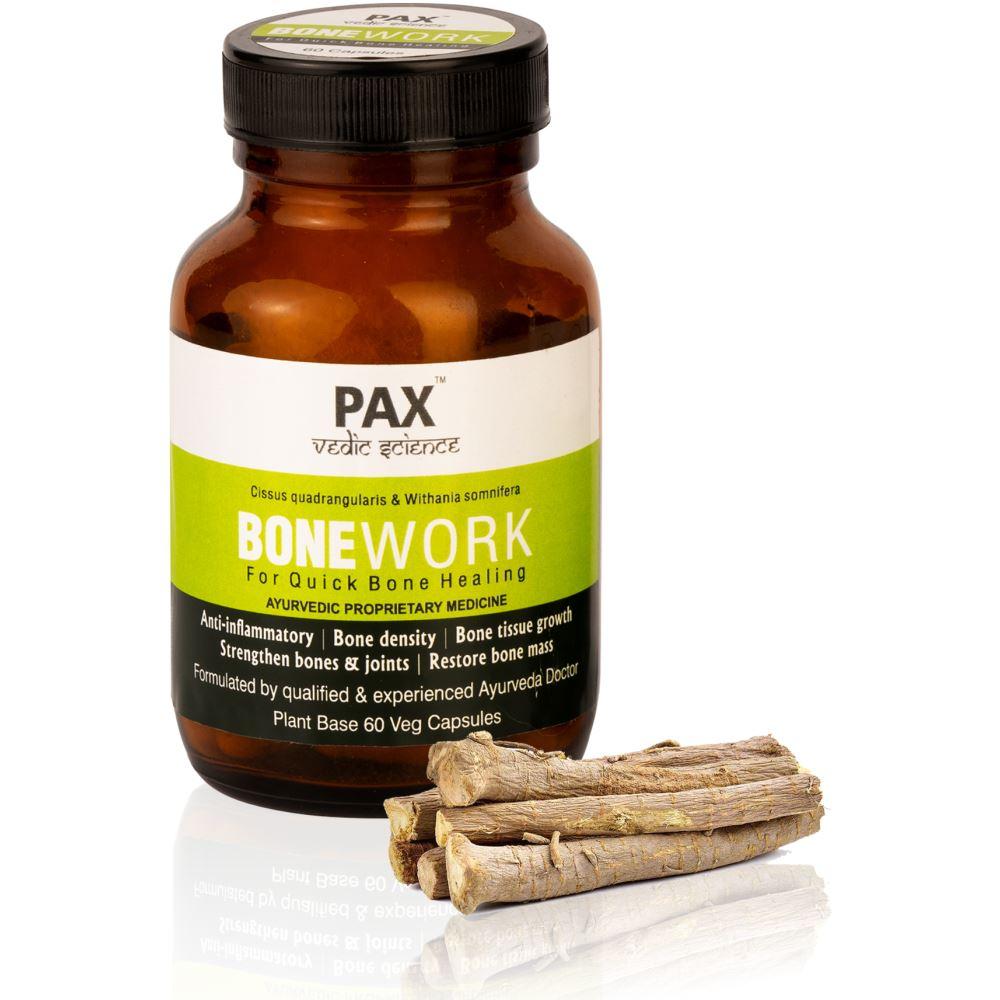 Pax Naturals Bonework Plant Based Veg Capsule (60caps)