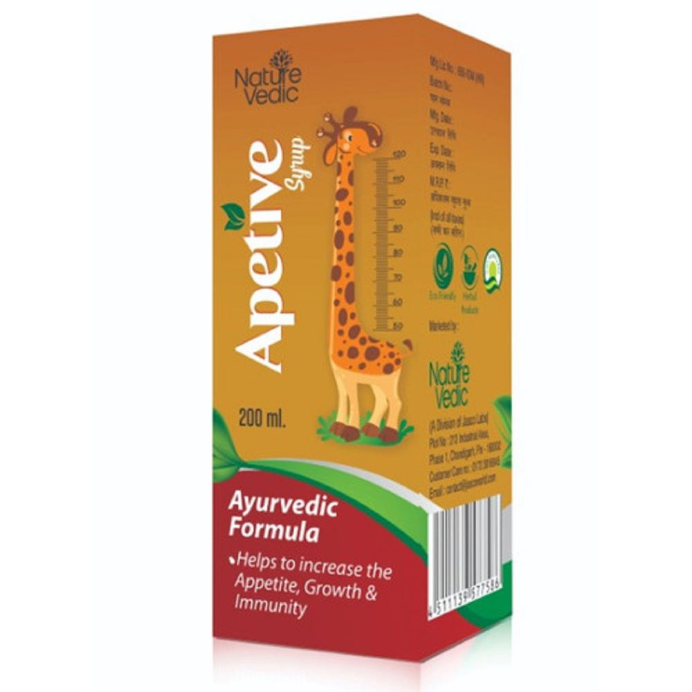 Nature Vedic Apetive Syrup (200ml, Pack of 2)