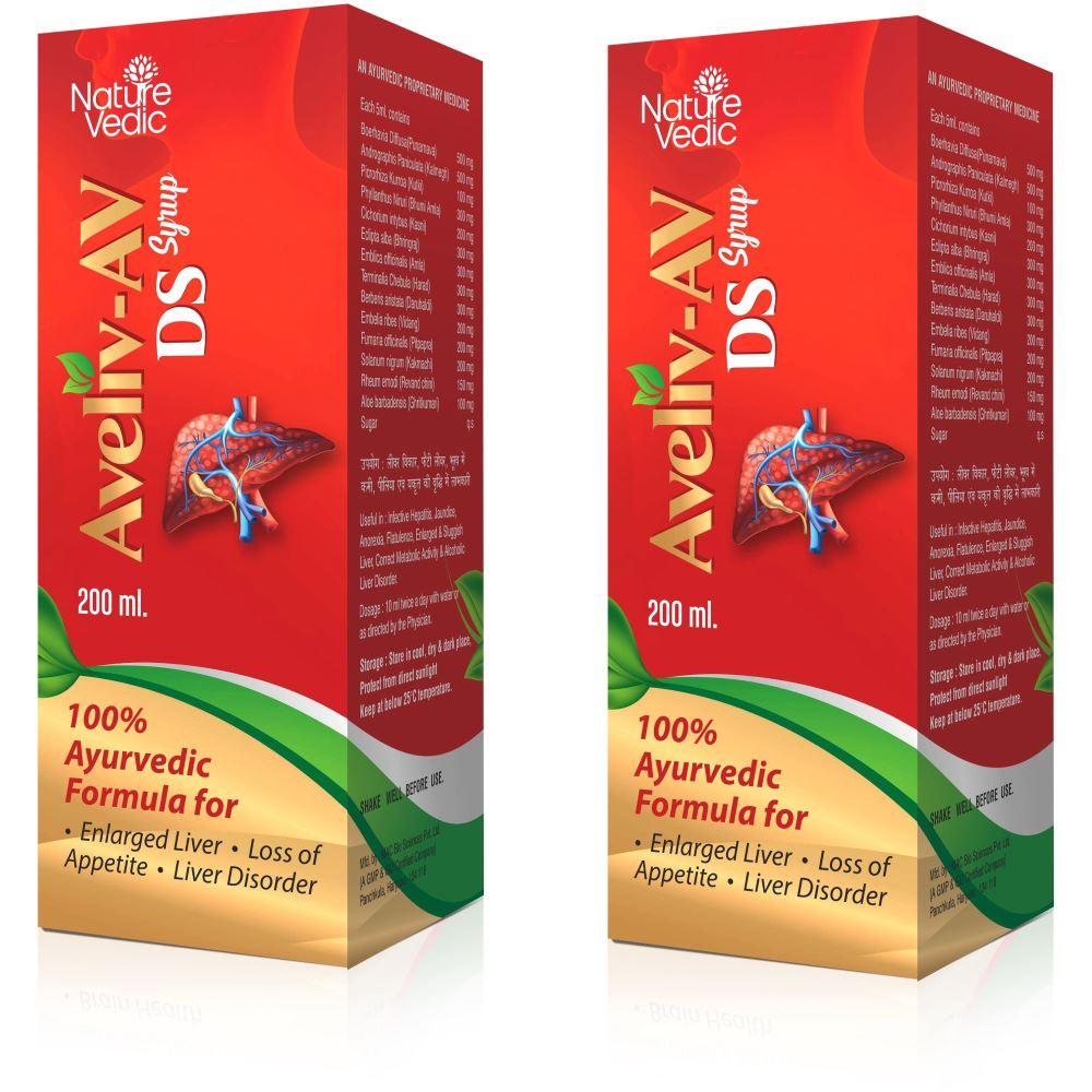 Nature Vedic Aveliv Av Ds Syrup (200ml, Pack of 2)