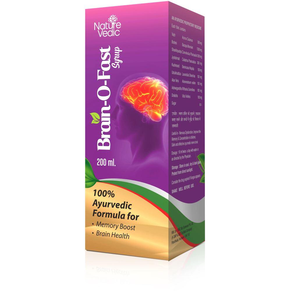 Nature Vedic Brainofast Syrup (200ml)