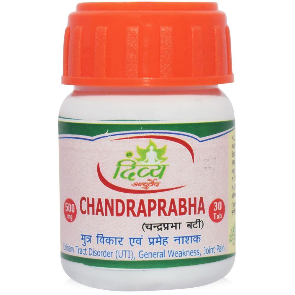 Shree Divya Ayurved Chandraprabha Vati (30tab)