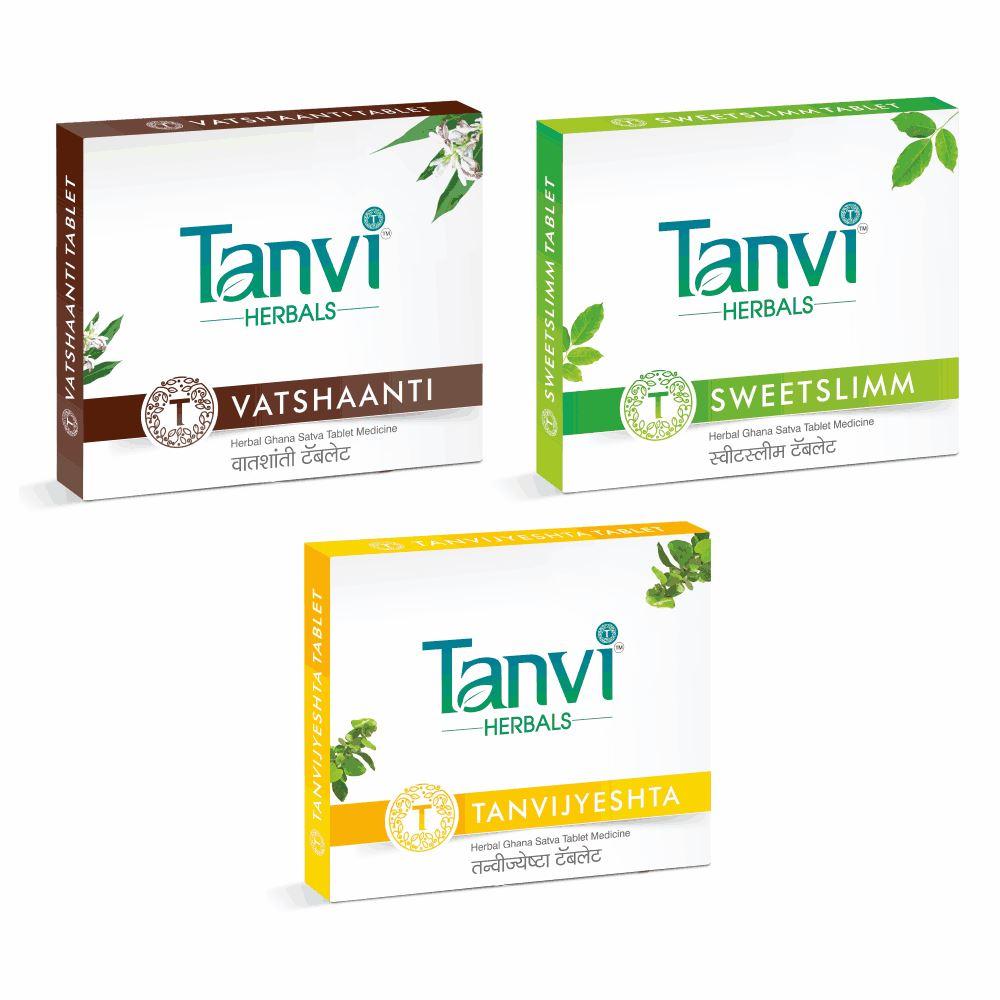 Tanvi Herbals Body Fitness Kit (1Pack)