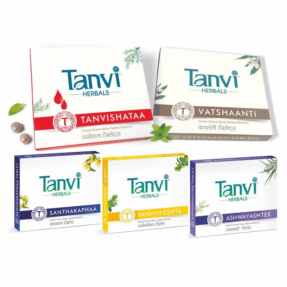 Tanvi Herbals Bodypain Kit (1Pack)