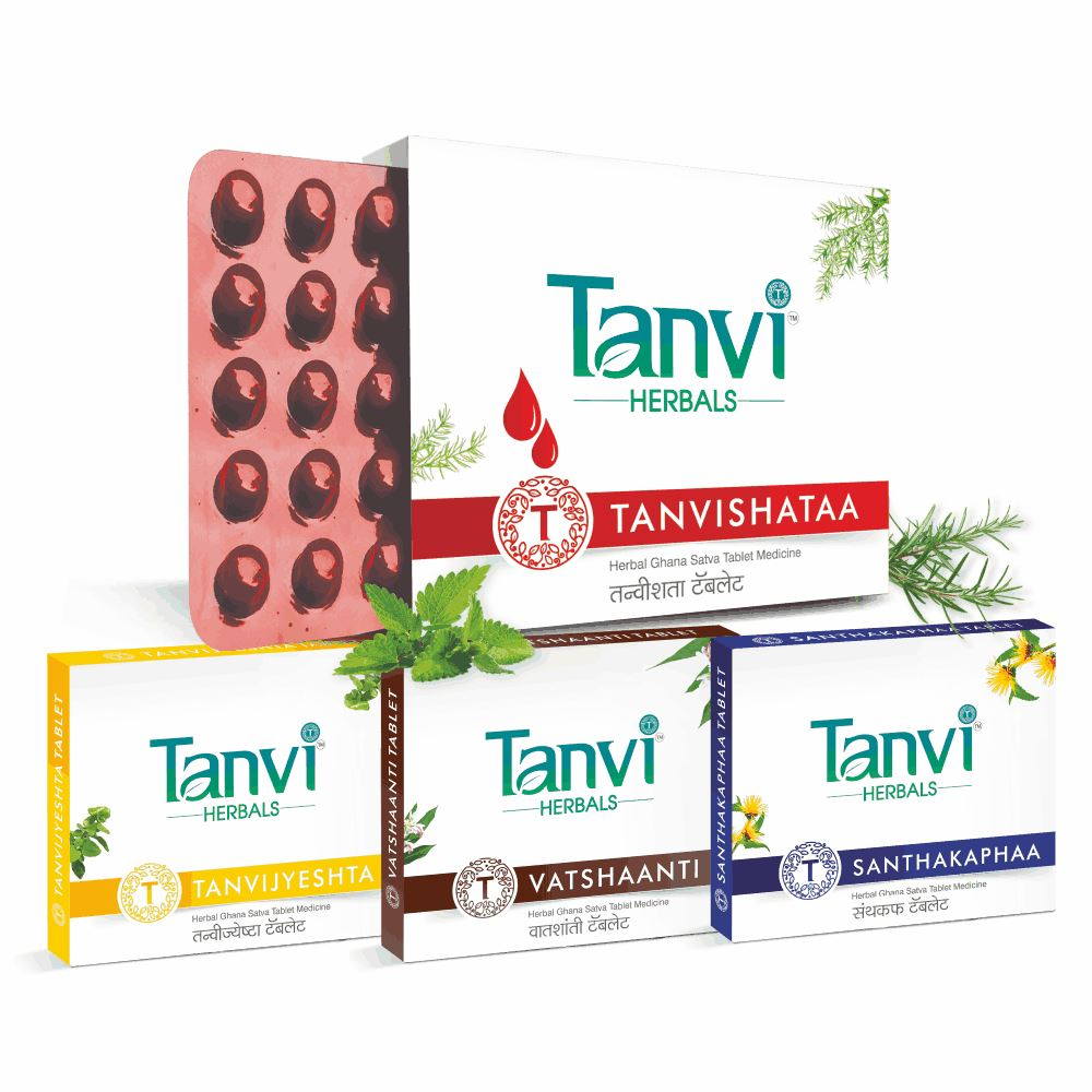 Tanvi Herbals Asthma Wellness Kit (1Pack)