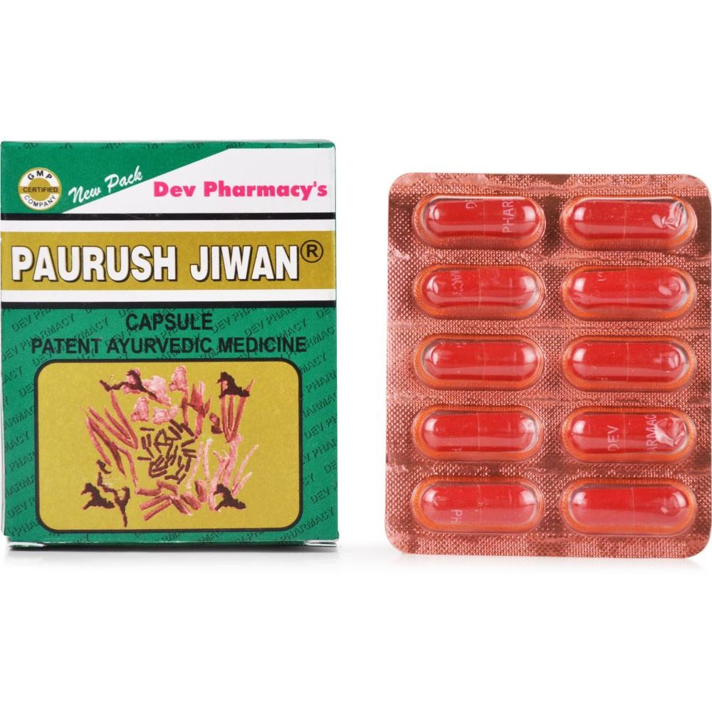 Dev Pharmacy Paurush Jiwan (10caps)