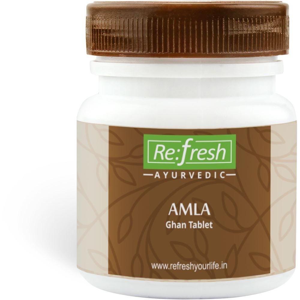 Refresh Ayurvedic Amla Ghan Tablet (120tab)