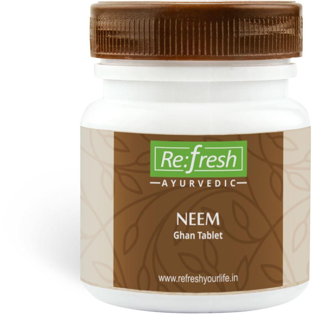 Refresh Ayurvedic Neem Ghan Tablet (120tab)