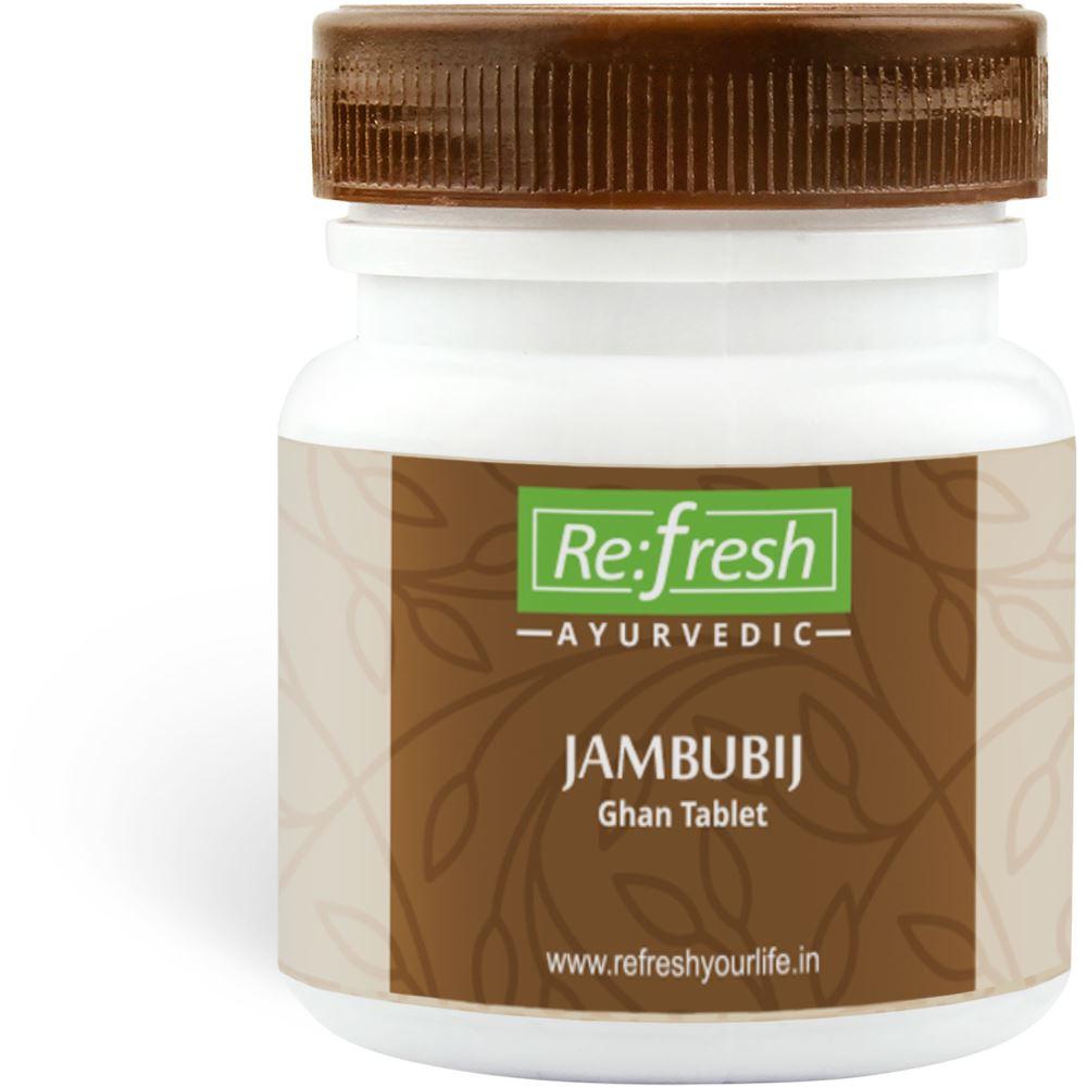 Refresh Ayurvedic Jambubij Ghan Tablet (120tab)
