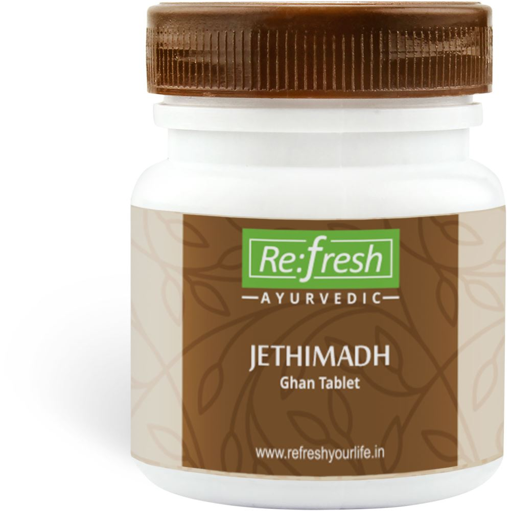 Refresh Ayurvedic Jethimadh Ghan Tablet (120tab)
