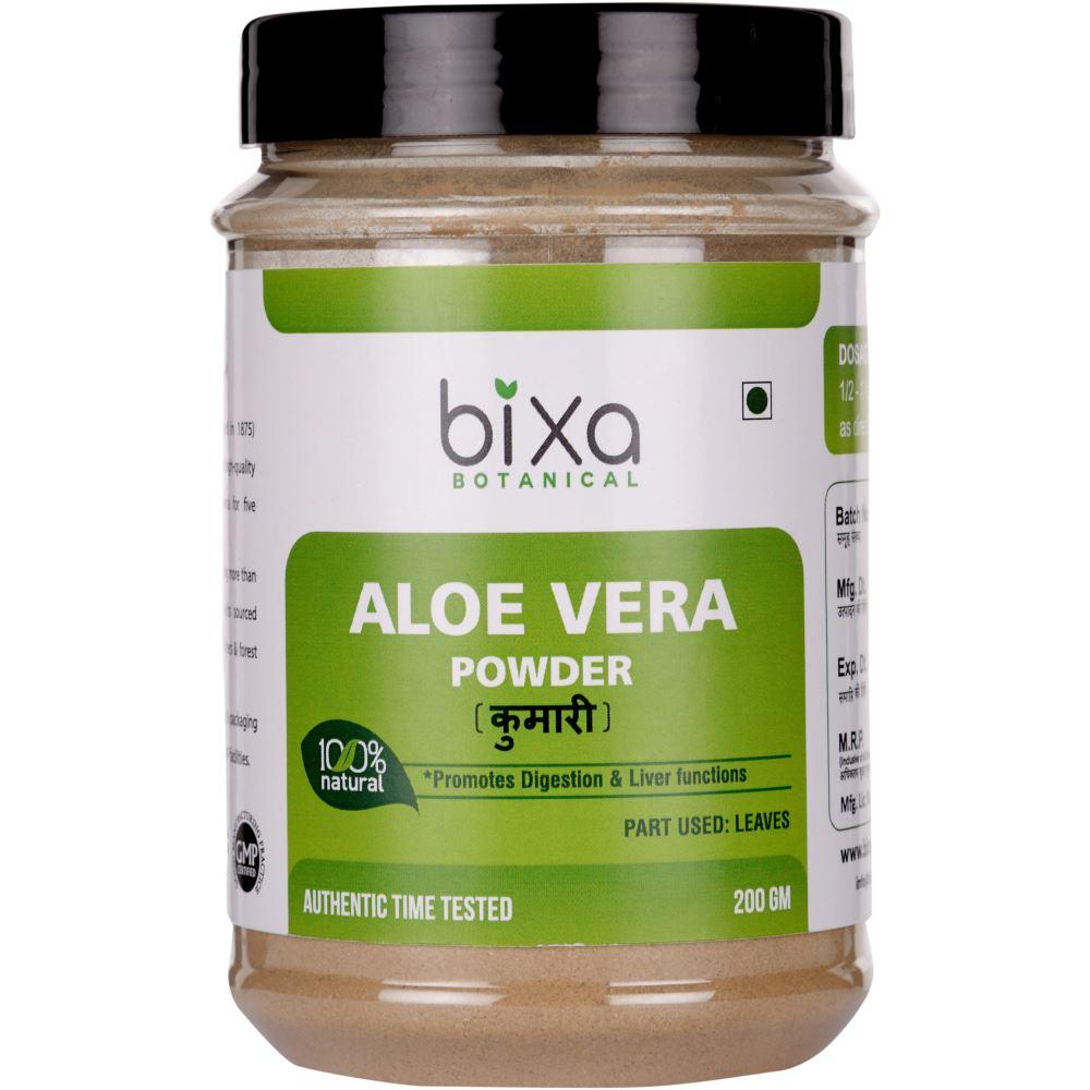Bixa Botanical Aloe Vera Leaves Powder Aloe Barbadensis (200g)