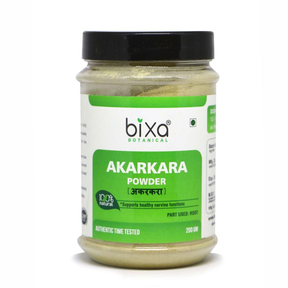 Bixa Botanical Akarkara Root Powder Anacyclus Pyrethrum (200g)