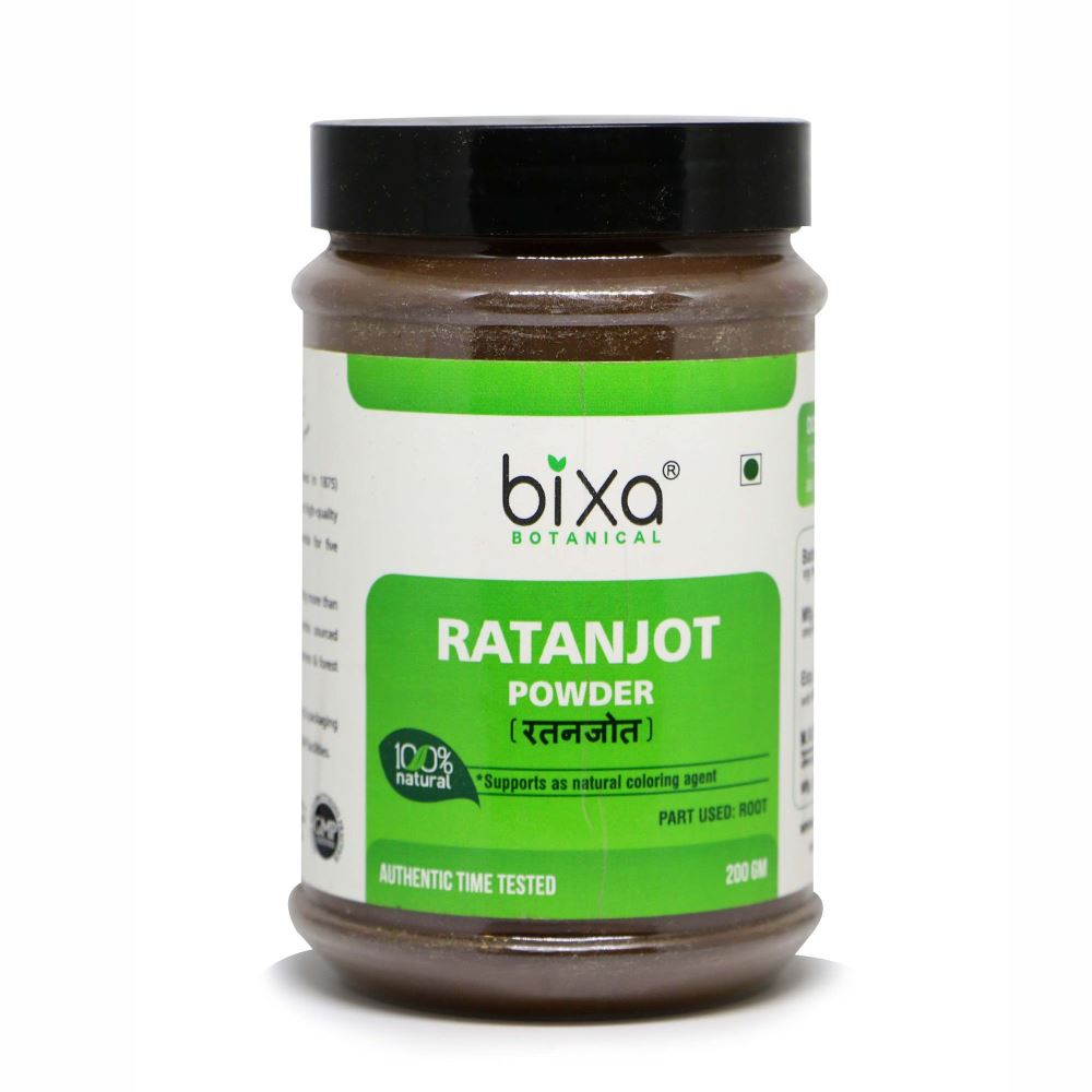 Bixa Botanical Ratanjot Powder Arnebia Nobilis (200g)