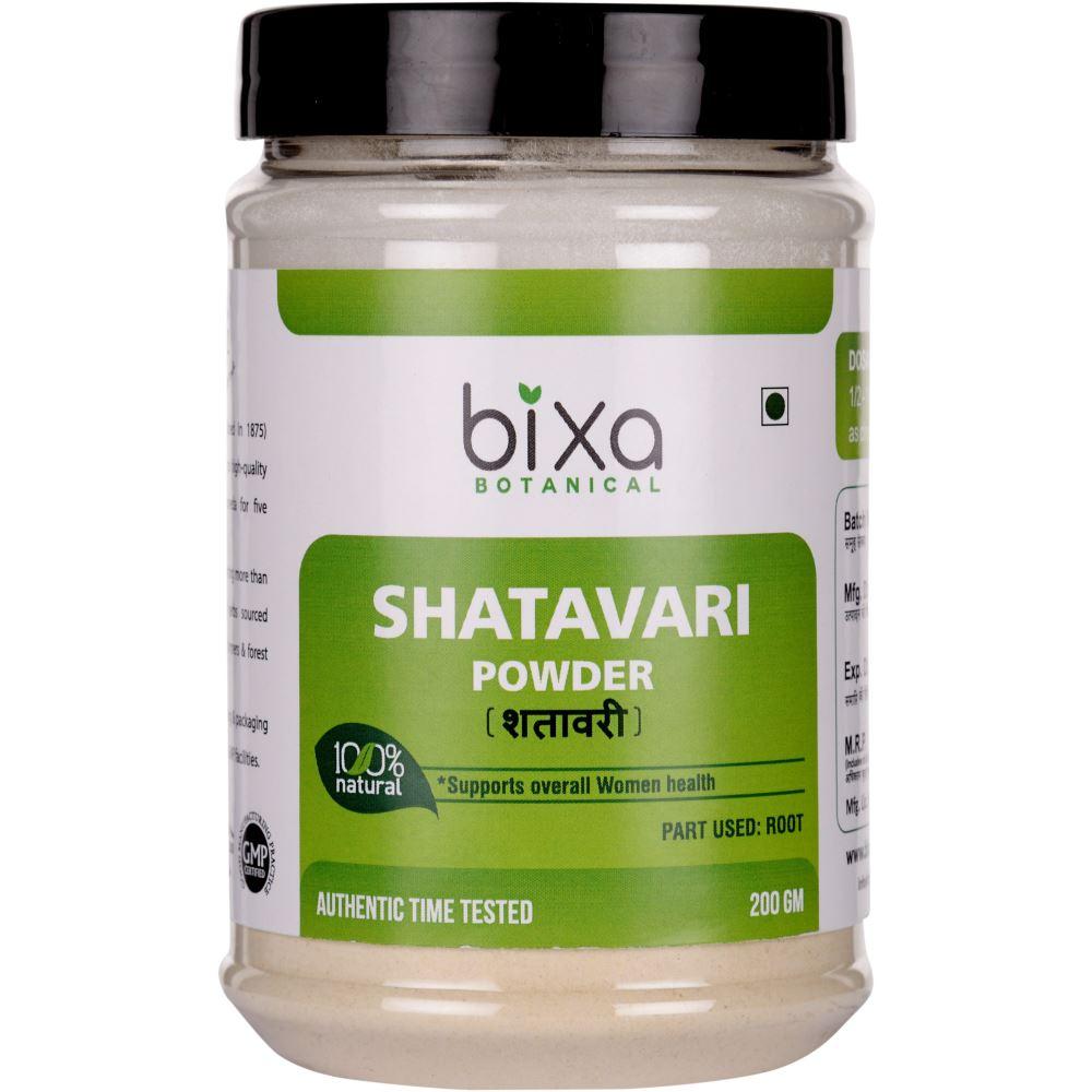 Bixa Botanical Shatavari Root Powder Asparagus Racemosus (200g)
