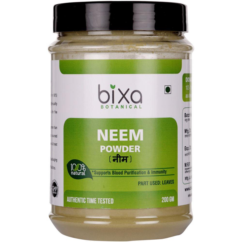 Bixa Botanical Neem Leaves Powder Azadirchta Indica (200g)
