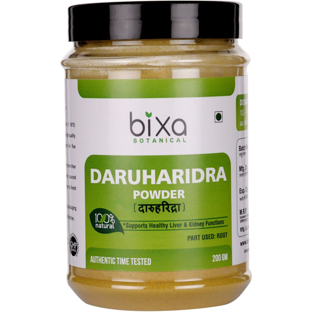 Bixa Botanical Daruharidra Root Powder Berberis Aristata (200g)