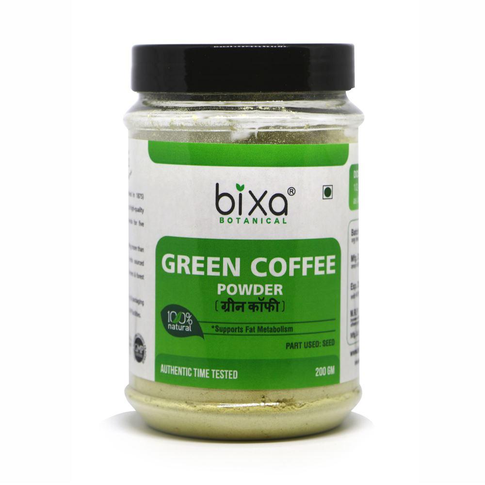 Bixa Botanical Green Coffee Beans Powder Coffea Robusta (200g)