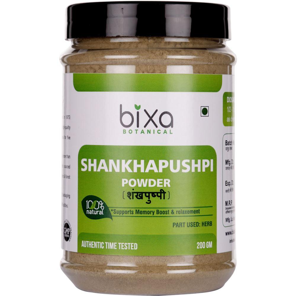 Bixa Botanical Shankhapushpi Herb Powder Convolvulus Pluricaulis (200g)