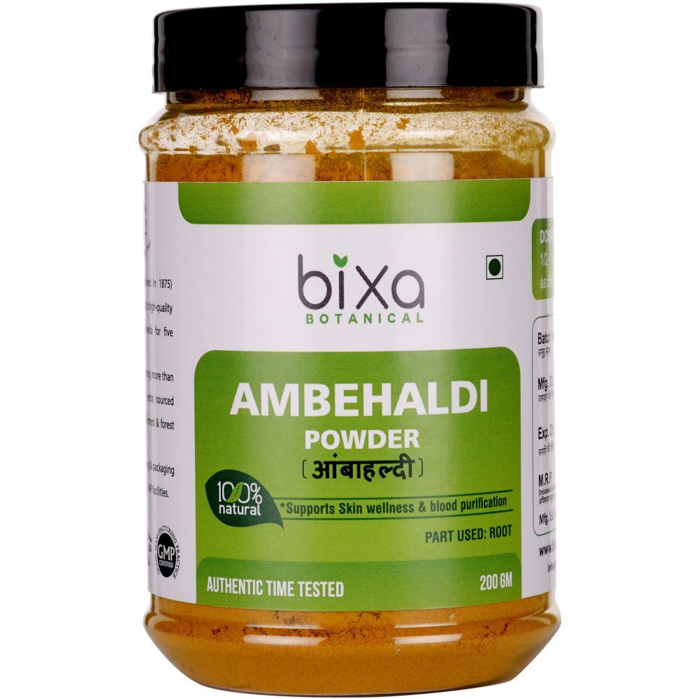 Bixa Botanical Ambehaldi Powder Curcuma Amada (200g)