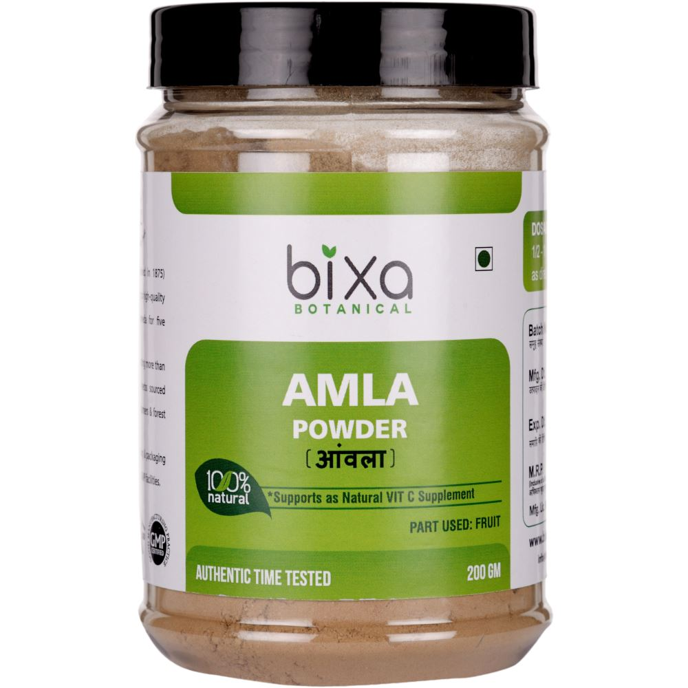 Bixa Botanical Amla Fruit Powder Emblica Officinalis (200g)