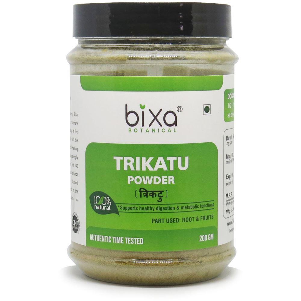 Bixa Botanical Trikatu Root & Fruits Powder Ginger + Kalimir + Pippali (200g)