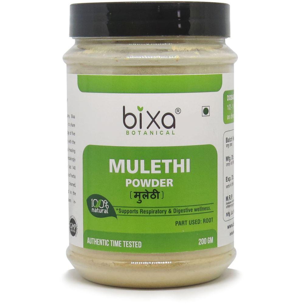 Bixa Botanical Mulethi Root Powder Glycyrrhiza Glabra (200g)