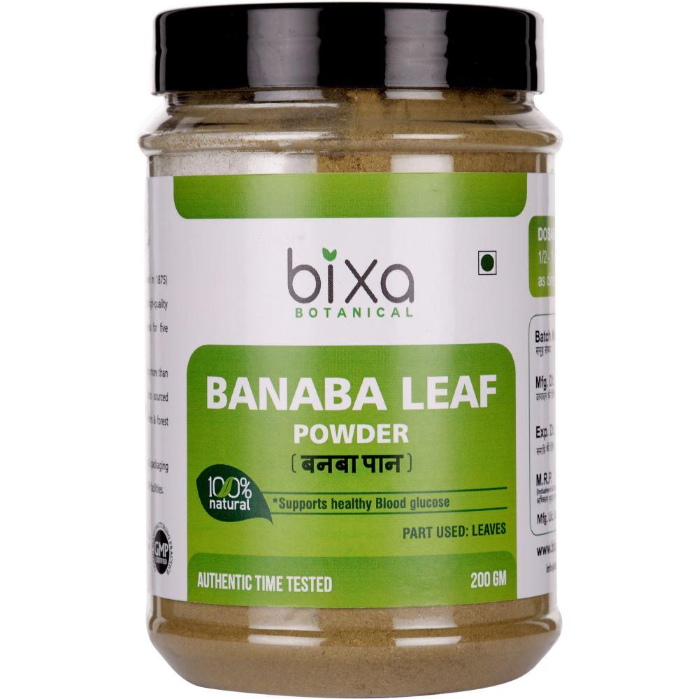 Bixa Botanical Banaba Leaves Powder Lagerstroemia Speciosa (200g)
