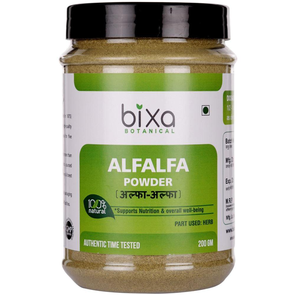 Bixa Botanical Alfalfa Herb Powder Medicago Sativa (200g)