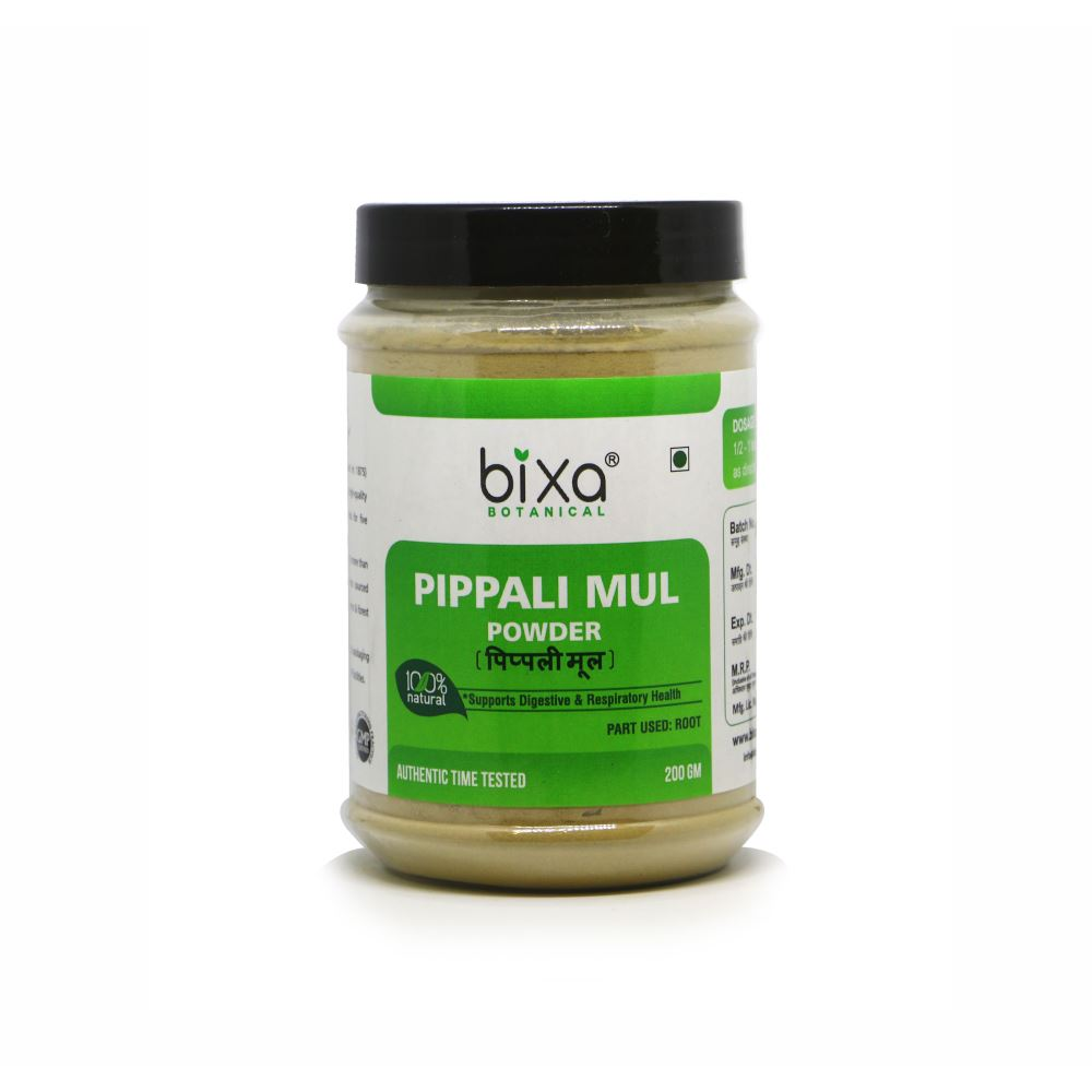 Bixa Botanical Pippalamul Powder Piper Longum (200g)