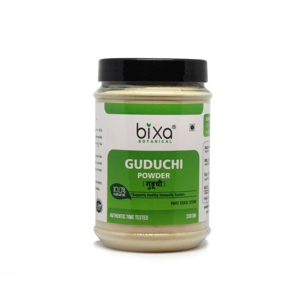 Bixa Botanical Guduchi Stem Powder Tinospora Cordifolia (200g)