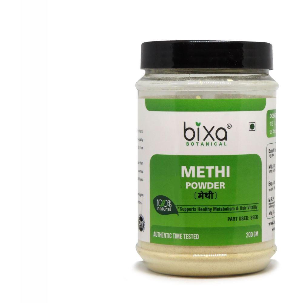 Bixa Botanical Methi Powder Trigonella Foenum-Graecum (200g)
