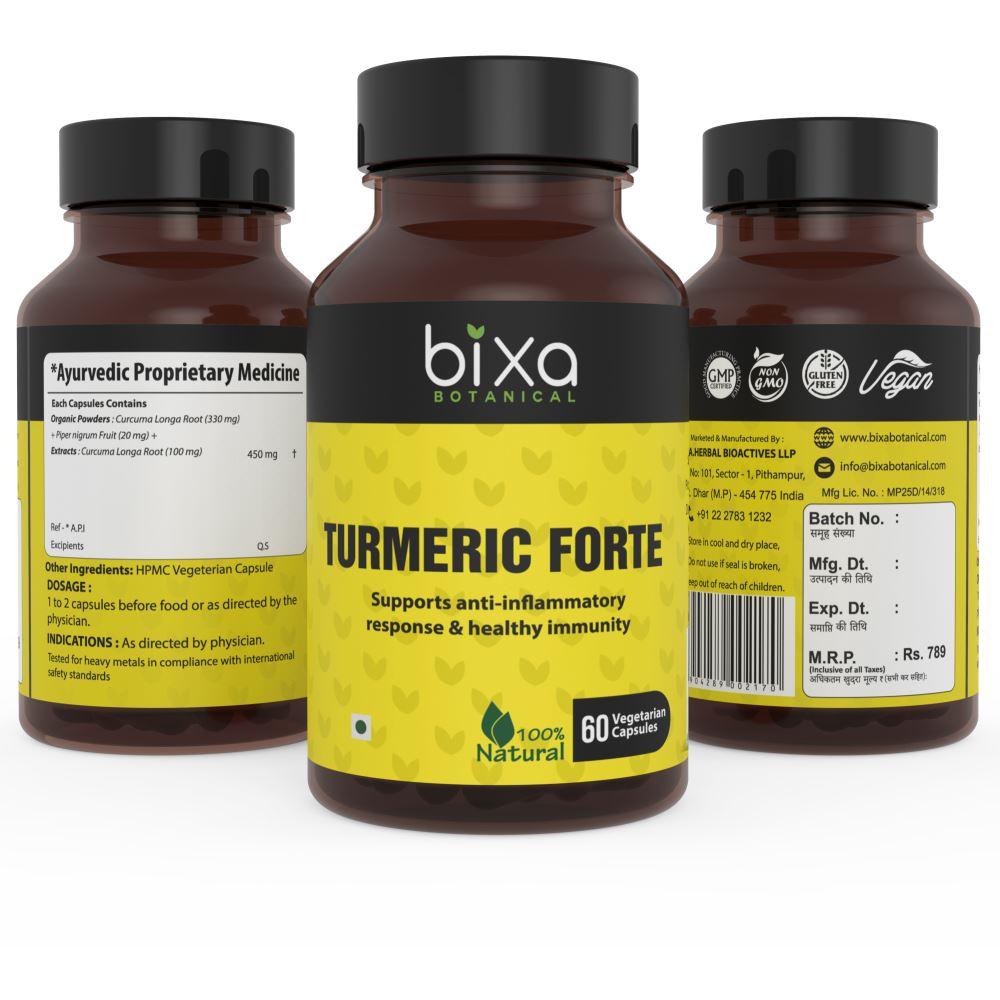 Bixa Botanical Turmeric Forte Capsules (60caps)
