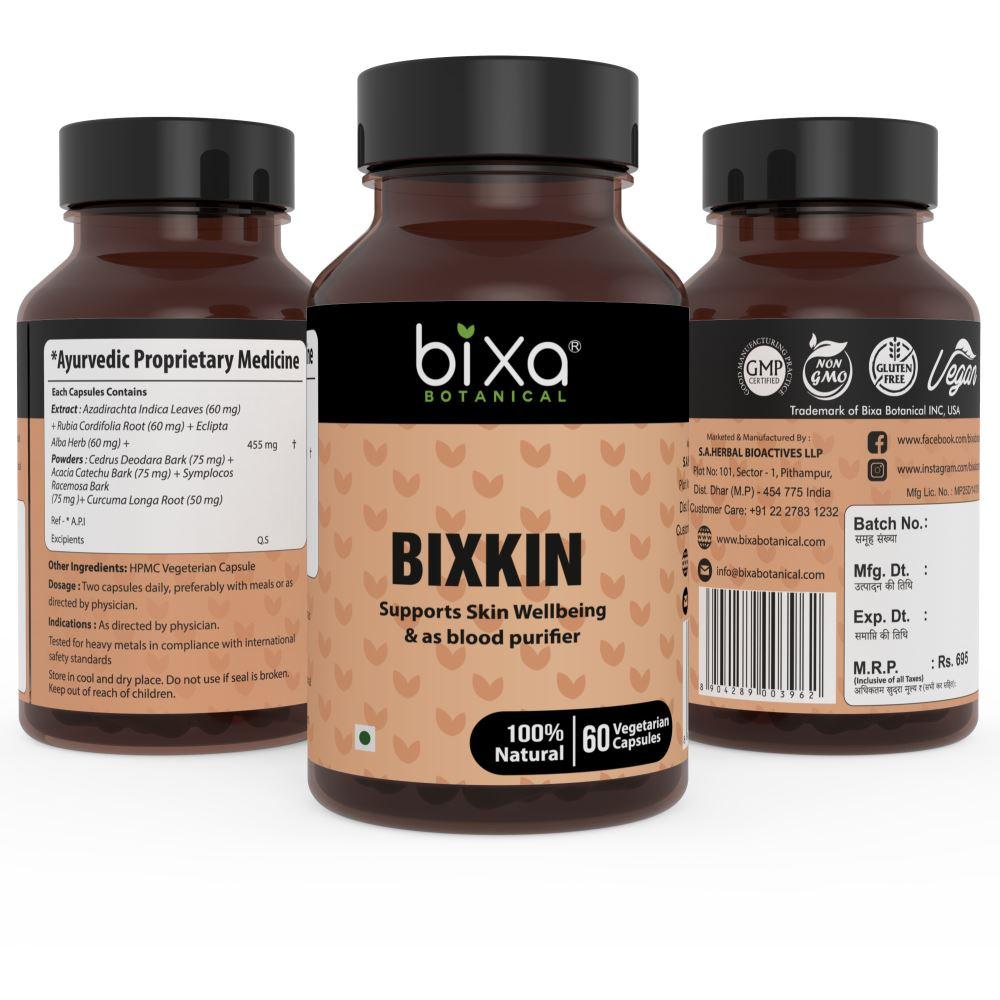 Bixa Botanical Bixkin Capsules (60caps)
