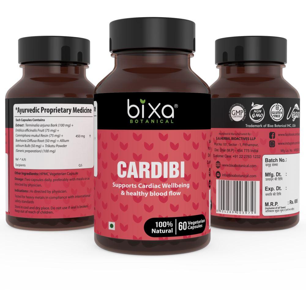 Bixa Botanical Cardibi Capsules (60caps)