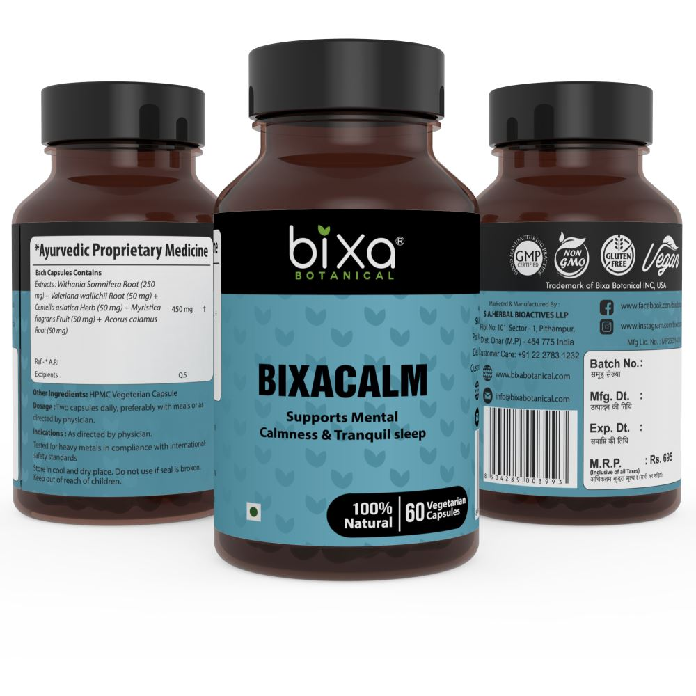 Bixa Botanical Bixacalm Capsules (60caps)