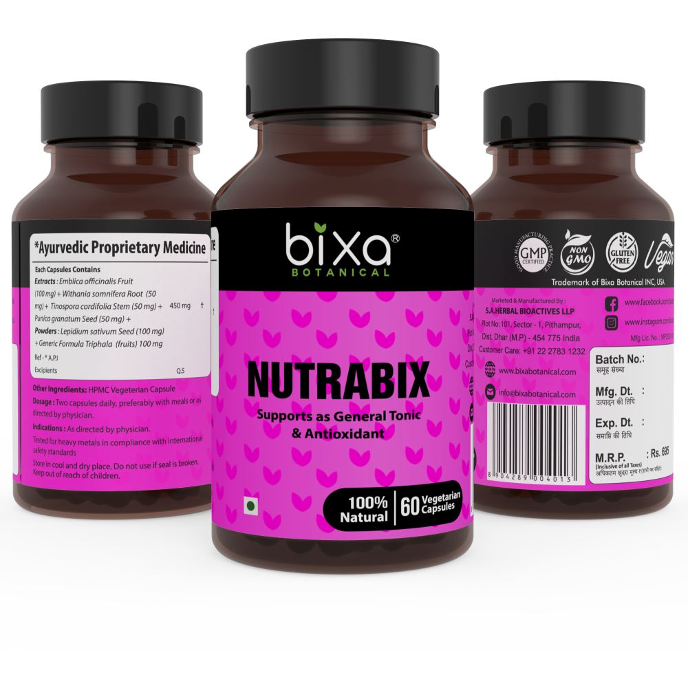 Bixa Botanical Nutrabix Capsules (60caps)