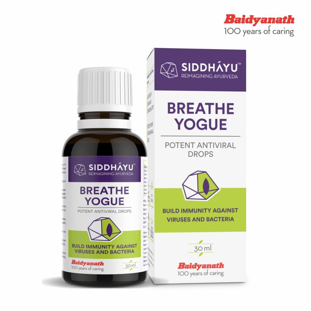 Siddhayu Breathe Yogue Mask Drops (30ml)