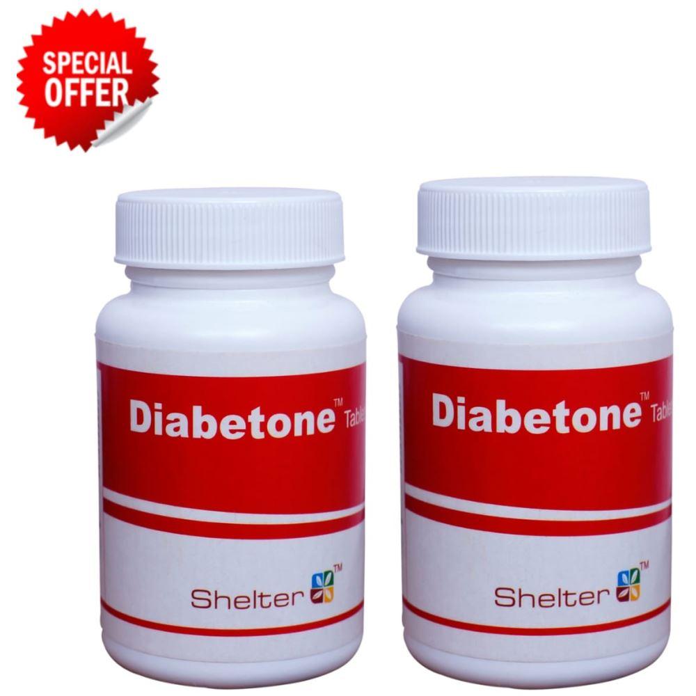 Shelter Diabetone Tablet (100tab, Pack of 2)