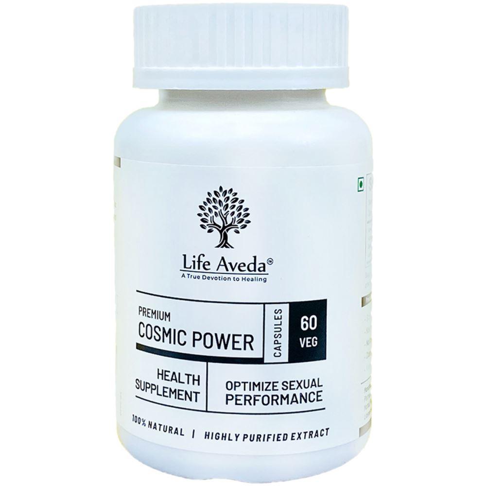 Life Aveda Premium Cosmic Power (500Mg) Veg Capsules (60caps)