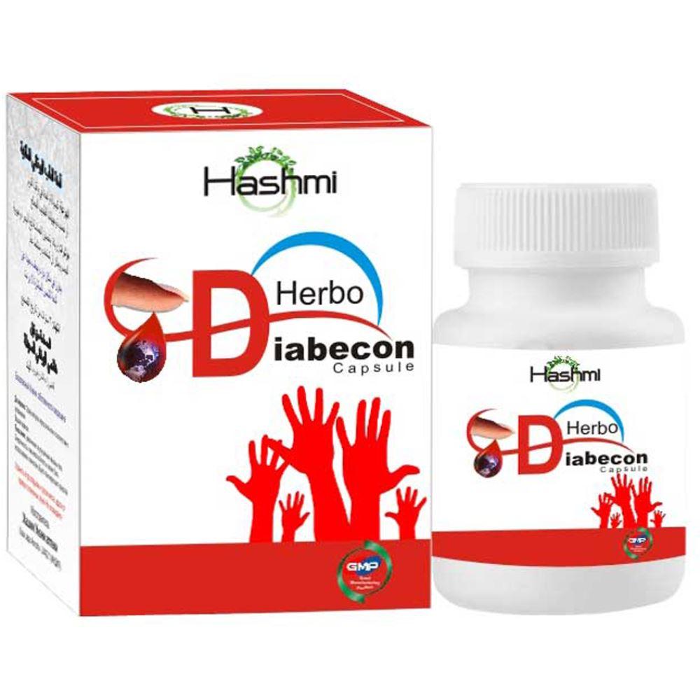 Hashmi Herbo Diabecon Capsule (20caps)