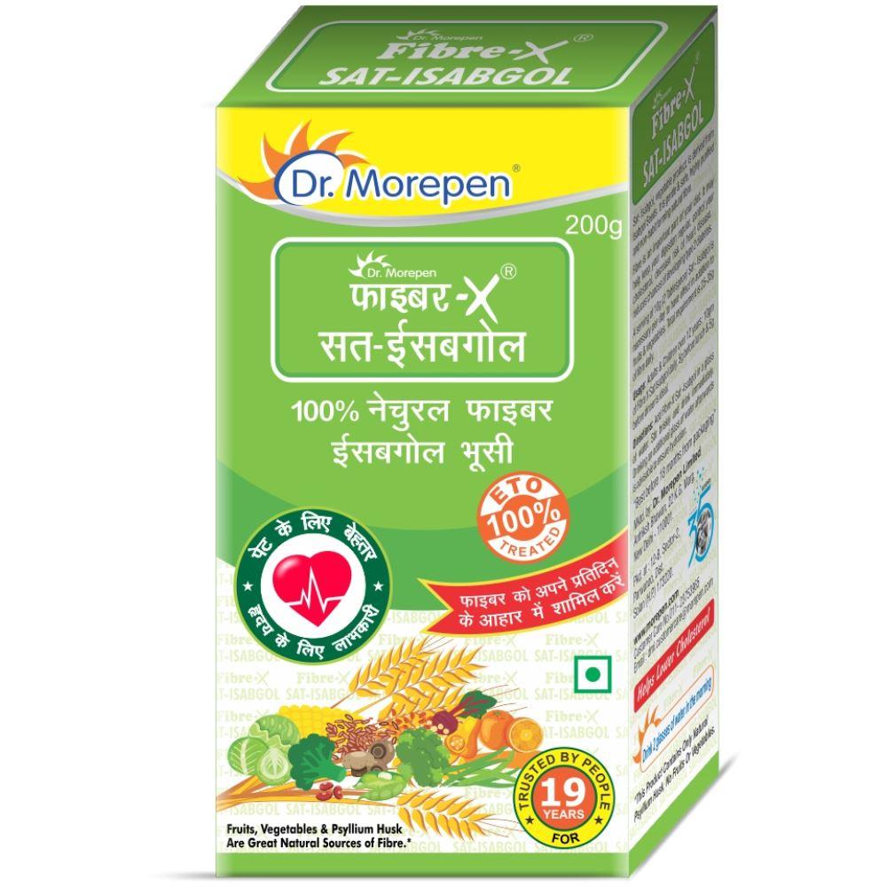 Dr. Morepen Fibre X Sat Isabgol Powder (200g)