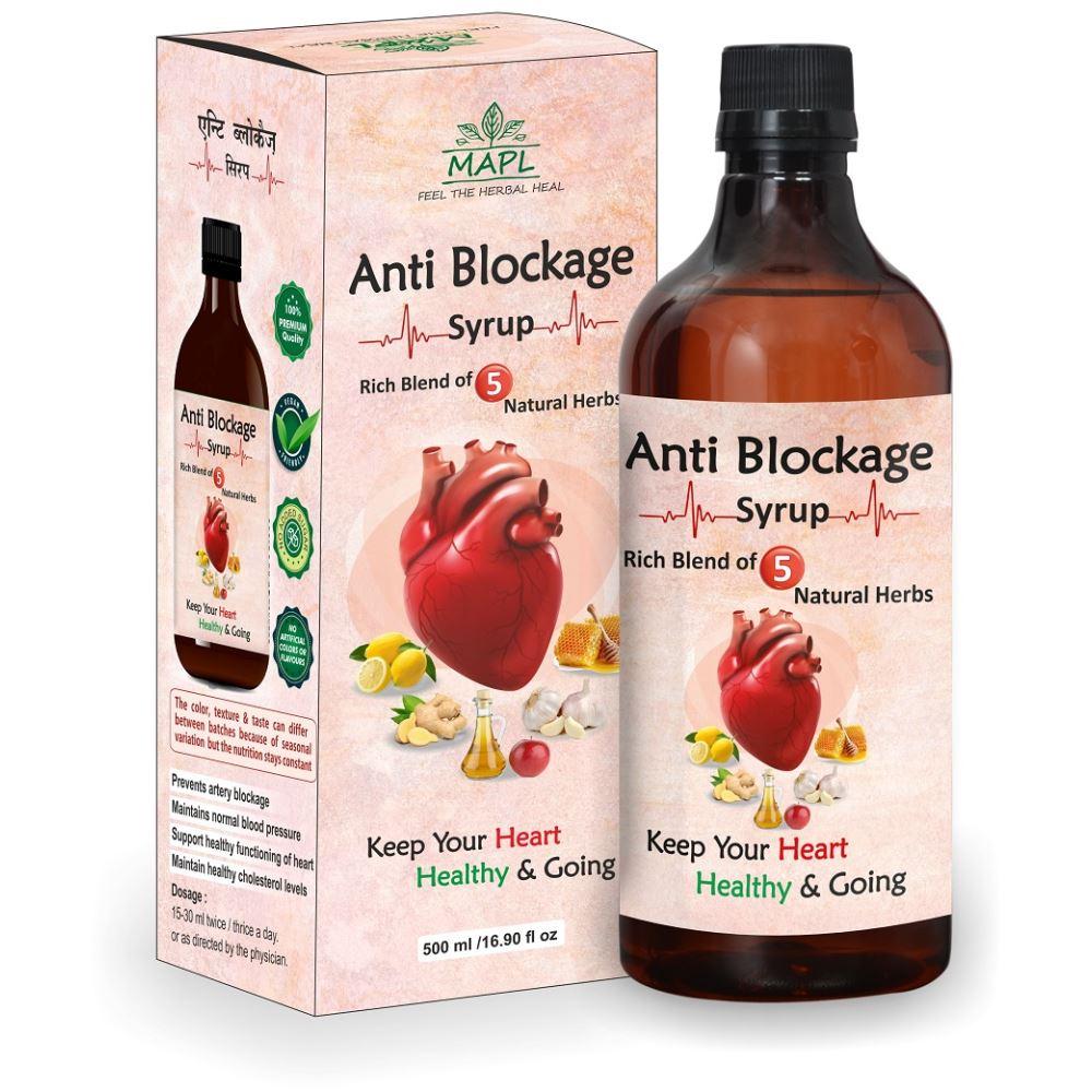 Mapl Antiblockage Syrup (500ml)