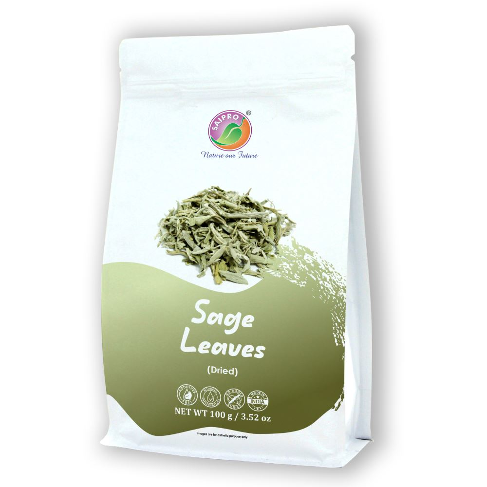 Saipro Dried Sage Leaves (100g)